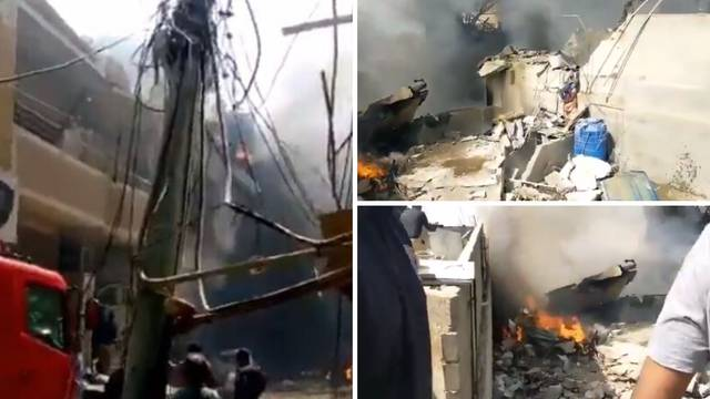 Tragedija u Pakistanu: Avion sa 107 putnika pao među kuće