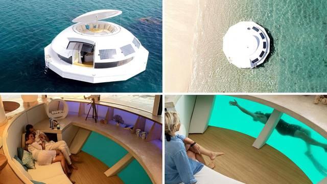 Luksuzni plutajući dom za sve koji žele pobjeći u samoću inspirirao je James Bond