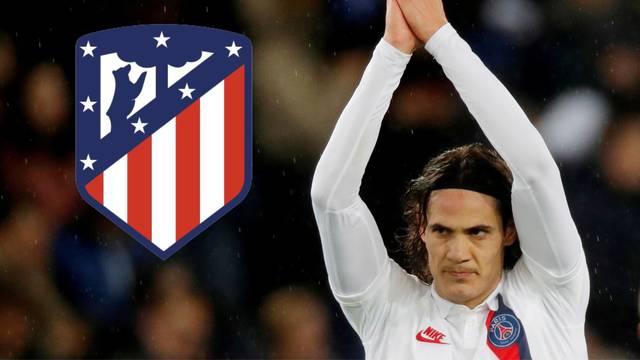 Di Marzijeva božićna bomba: Cavani potpisuje za Atletico!