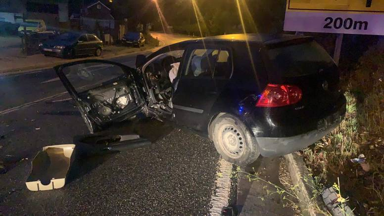 Autom kod Klisa izletio s ceste, jedan čovjek ozlijeđen u nesreći
