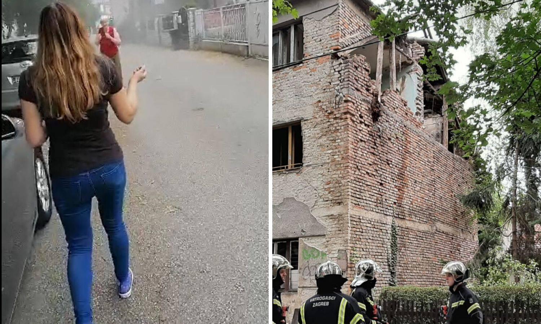 Srušio se dio kuće na Krugama: 'Užas! Blizu su bile žene i djeca'