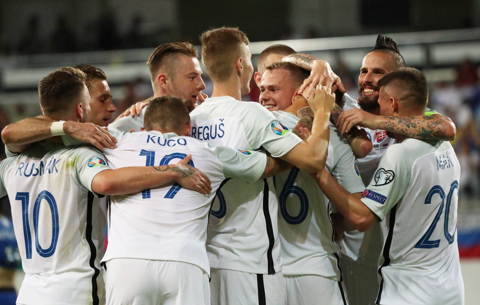 Euro 2020 Qualifier - Group E - Azerbaijan v Slovakia
