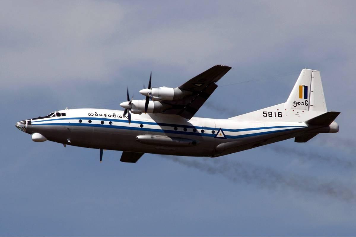 Ostaci vojnog aviona  nestalog u Mijanmaru nađeni u moru