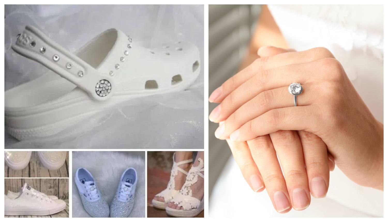 Mladenku napali jer na svadbi planira nositi - bijele Crocsice