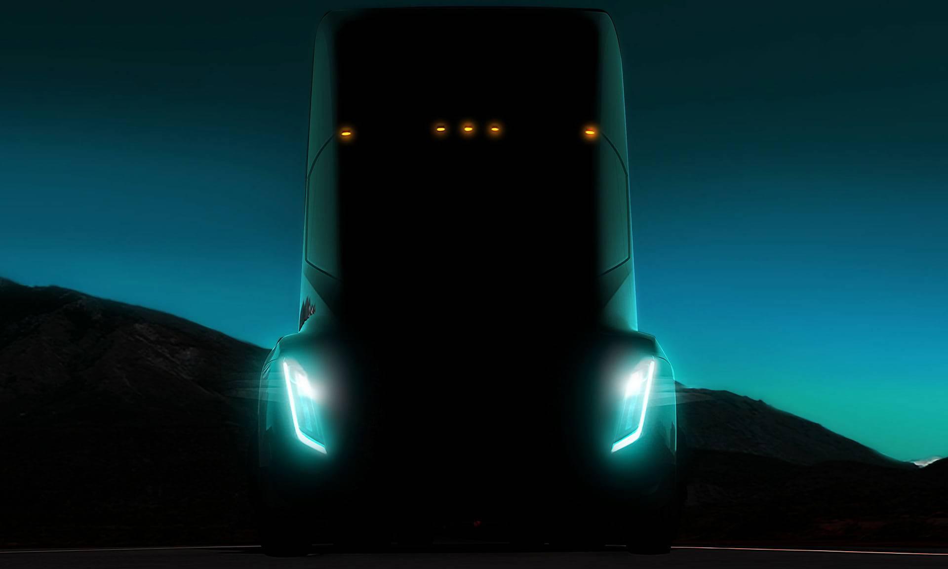 Teslin cestovni vlak: Električni kamioni sami će moći voziti