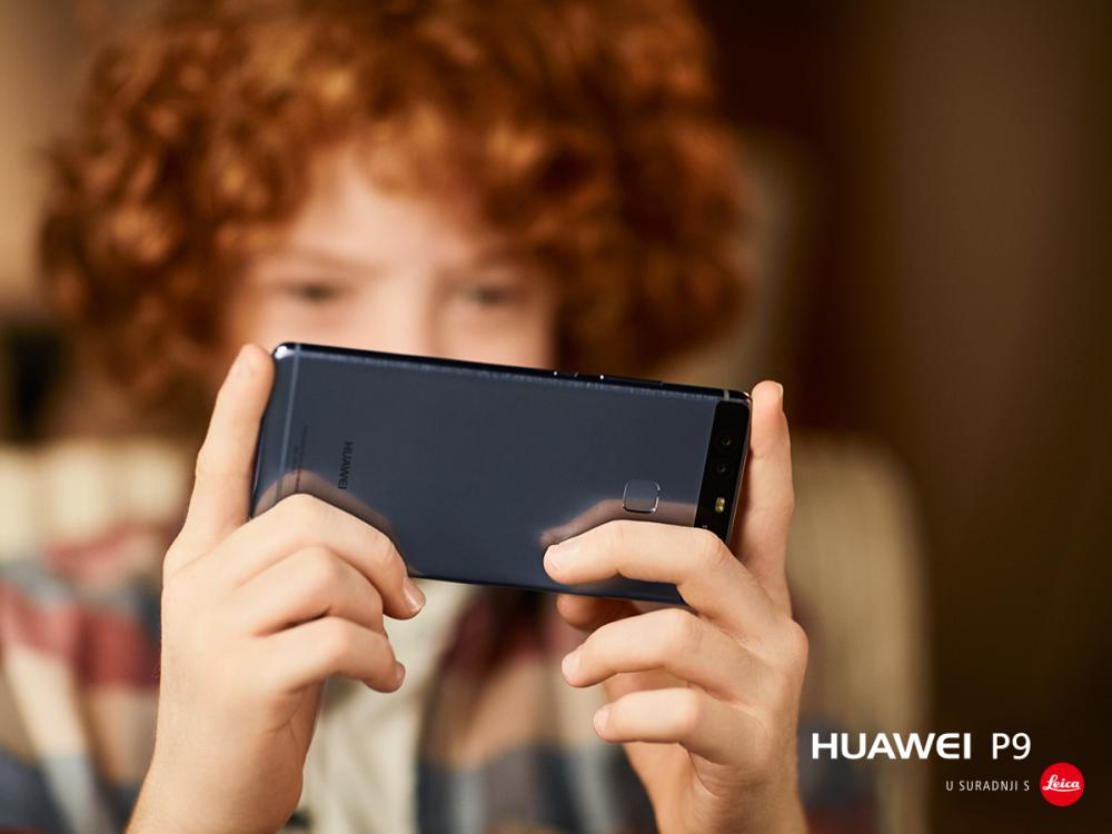 Uz pametni telefon Huawei P9 Blue nećete proći nezamijećeno