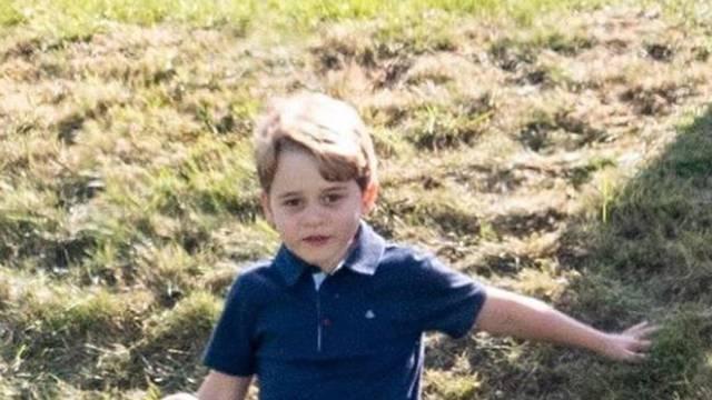 Savannah je gurnula niz brdo mlađeg bratića, princa Georgea