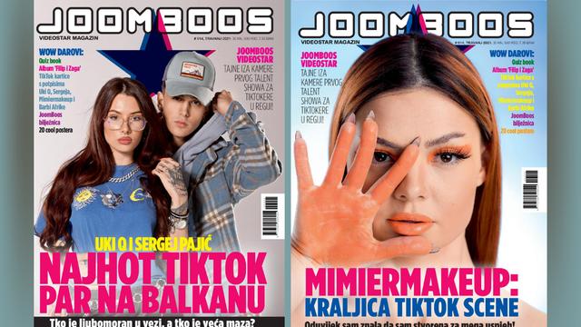 Mimiermakeup, Uki Q i Sergej: Priče i potpisi top zvijezda u novom JoomBoos magazinu!