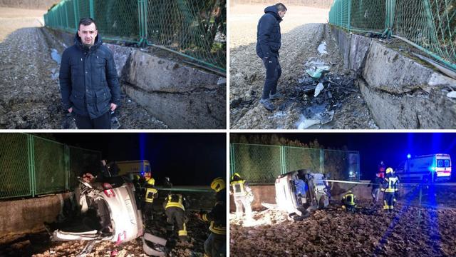 Igor je spasio mladića od smrti u zaleđenom autu: 'Ništa se nije vidjelo, uspio sam čuti jauke'