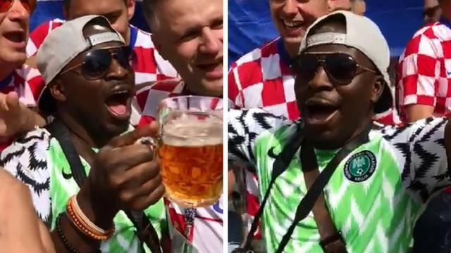 Nakon nekoliko piva Nigerijac postao - Ante iz Babine Grede