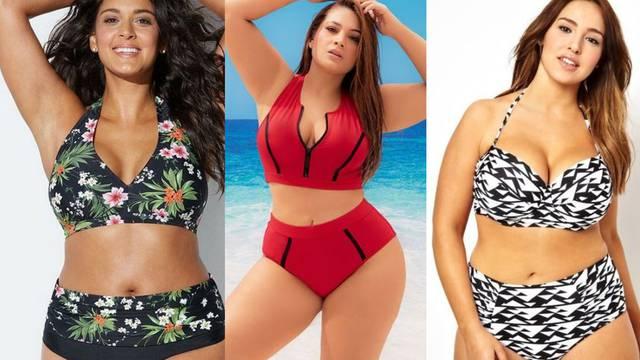 Vrlo ženstveni: Top dvodijelni kupaći kostimi za puniju figuru