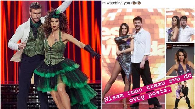 Dino Rađa zaprijetio plesnom partneru supruge: 'Gledam te'