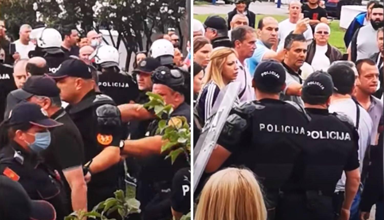 Uhitili gradonačelnika Budve, na ulicama prosvjednici, bacaju petarde i viču: 'Ustaše, Ustaše'