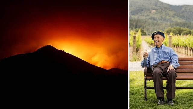 Grgić s imanja spašavao vina, vatra ga je srećom mimoišla