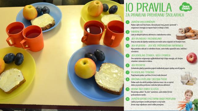 Prehrana školaraca: Doručak je najvažniji obrok u danu koji mališanima osigurava energiju