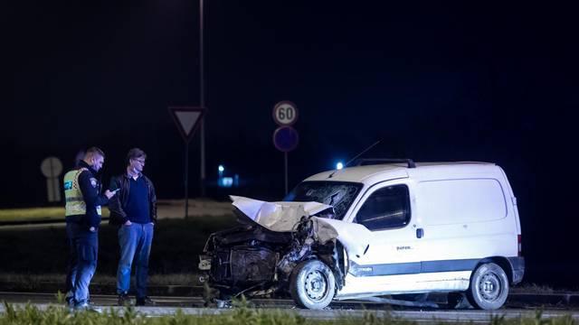Zagreb: U sudaru dva automobila u blizini Zračne luke jedna je osoba poginula