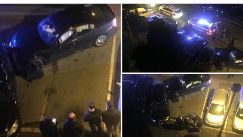 Jurio je s dvoje djece u autu, sudario se, ostavio ih i otrčao
