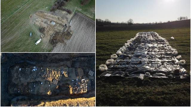 Ekshumirali posmrtne ostatke 57 ljudi iz grobnice u Garešnici