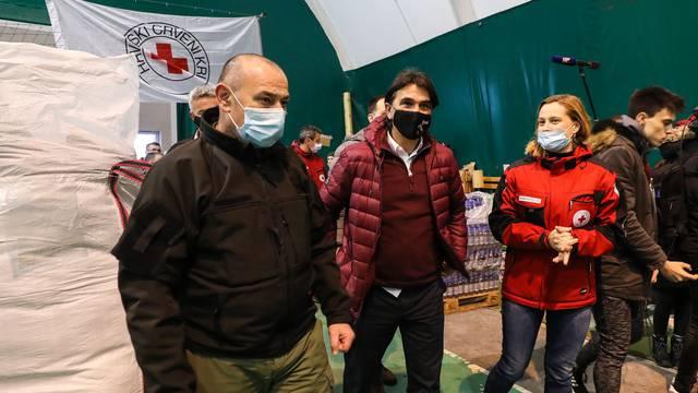 Stigla velika donacija pomoći iz Livna, s ekipom došao i Dalić