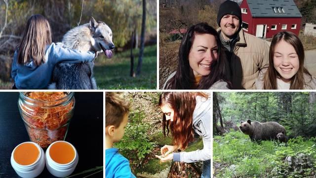 Obitelj iz Rijeke preselila se u Gorski kotar: Koristimo kišnicu,  srne i vjeverice su nam jedini TV