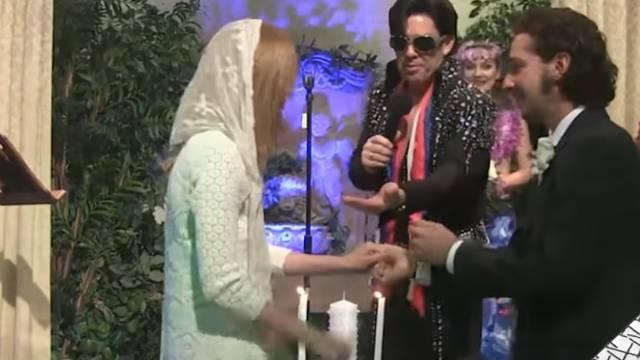 Prenosio uživo: Shiu LaBeoufa u Las Vegasu je vjenčao Elvis