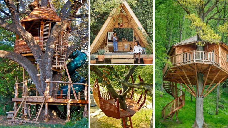 10 prekul kućica na drvetu: One su san i malog i velikog djeteta