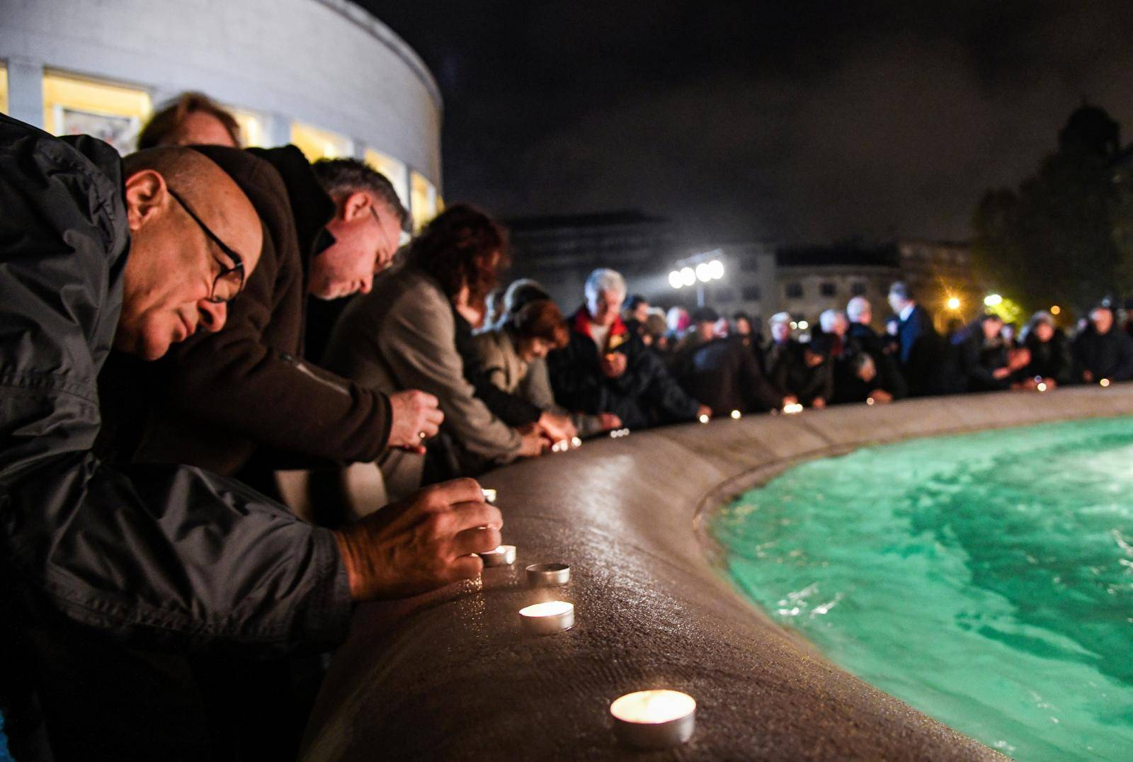 Zagreb: Antifašistička liga organizirala obilježavanje godišnjice Kristalne noći