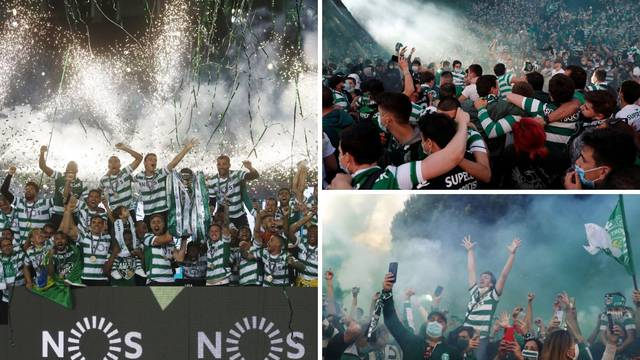 Ronaldov klub slavi: Sporting osvojio naslov nakon 19 godina!