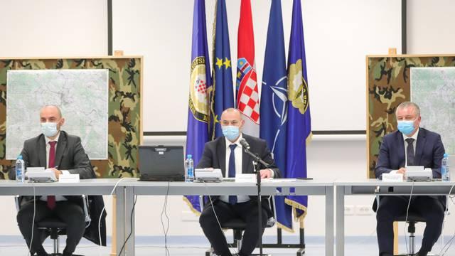 Petrinja: Sastanak Stožera za sanaciju posljedica potresa u Sisačko-moslavačkoj županiji