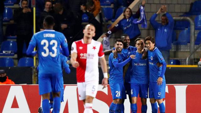 Europa League - Round of 32 Second Leg - KRC Genk v SK Slavia Prague