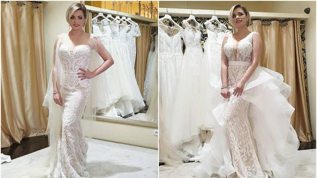 Šušnjara zaintrigirala fotkama u vjenčanici: 'Prva ili druga?'
