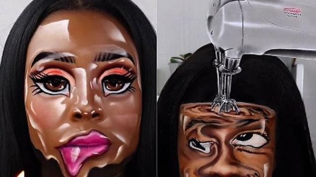 Šminka se po 16 sati: Na svom licu stvara nevjerojatne iluzije