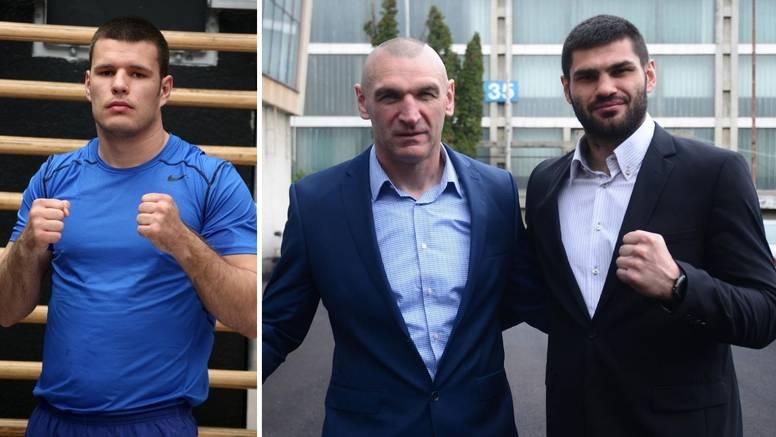 Hrgović na standardnoj kilaži, a Mavrović i Milas znatno lakši od protivnika na vagi prije meča