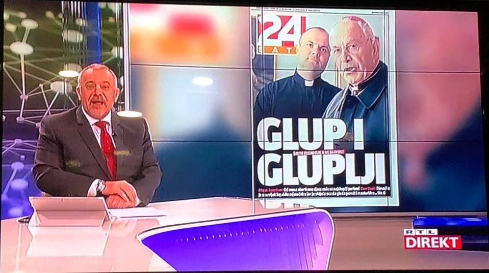 Zoran Šprajc emisiju Direkt odjavio uz naslovnicu 24sata