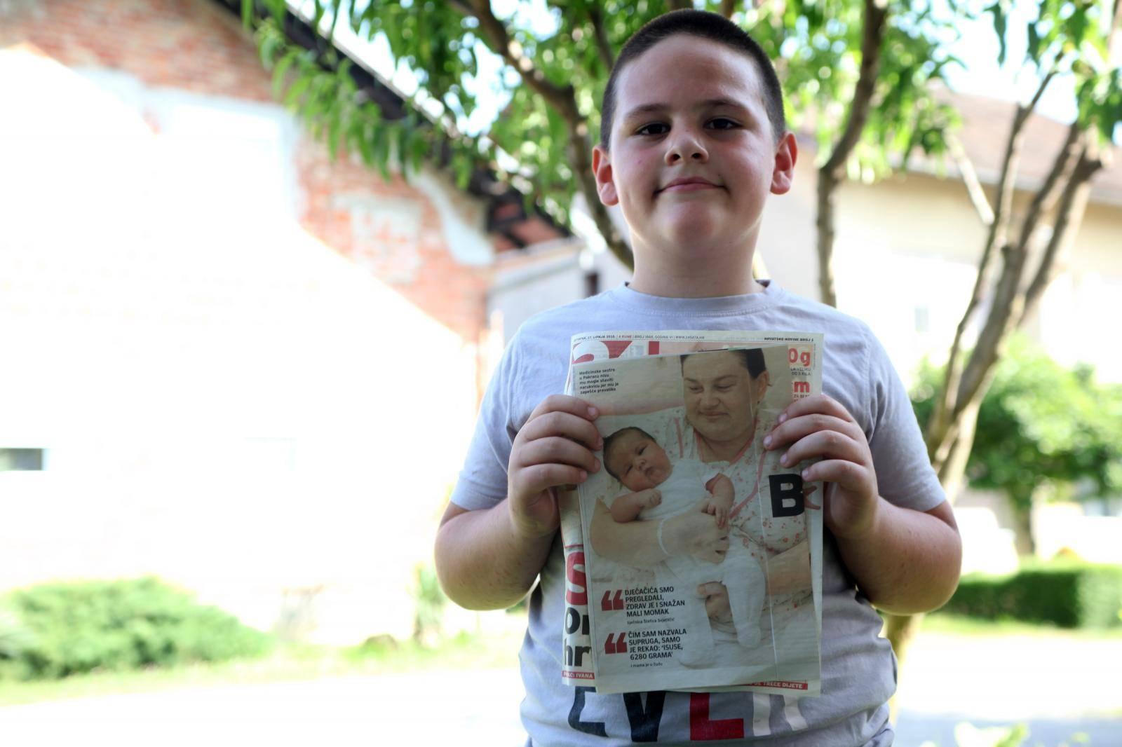 Najveća beba u Hrvatskoj: 'To sam bio ja, sad  mi je 9 godina'
