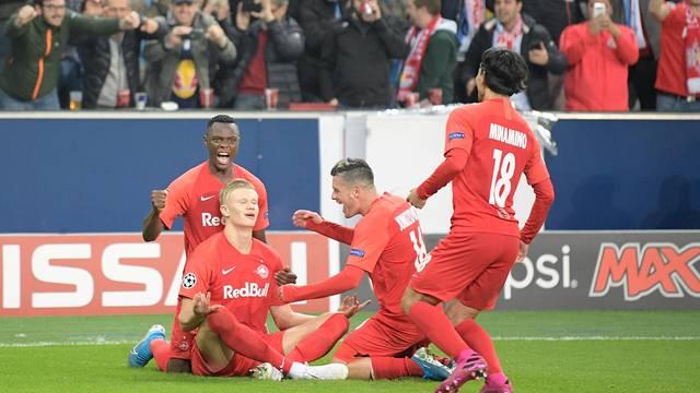 CL - 19/20 - RB Salzburg vs. SSC Napoli