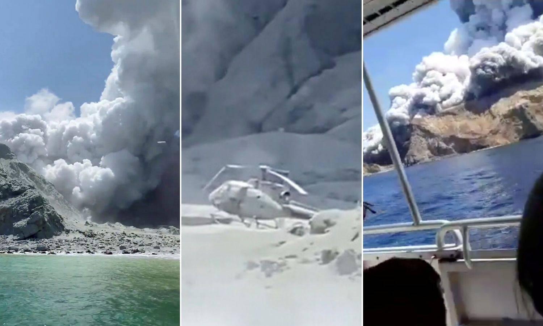 Vulkan je spržio i helikopter: 'Na otoku više nema živih...'