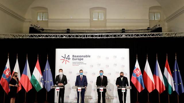 Visegrad Group summit at Lednice Chateau