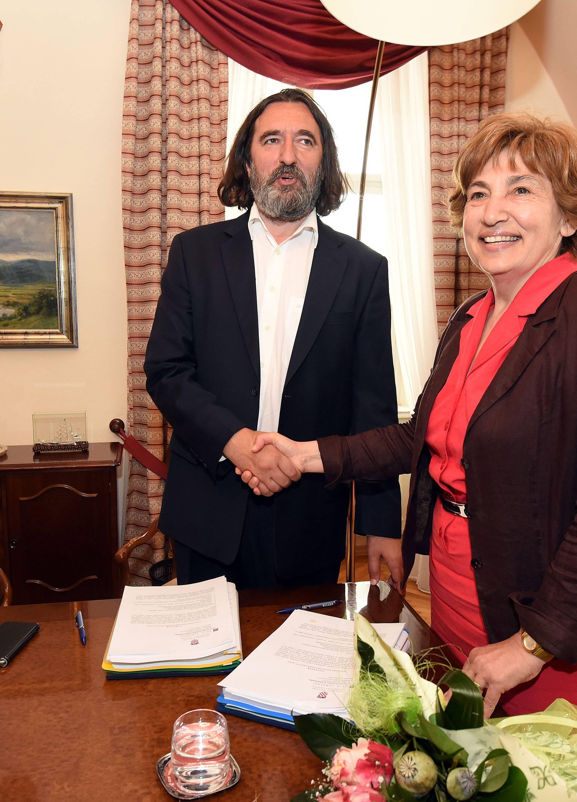 Dr. Ivan Čehok preuzeo Grad Varaždin od povjerenice Vlade