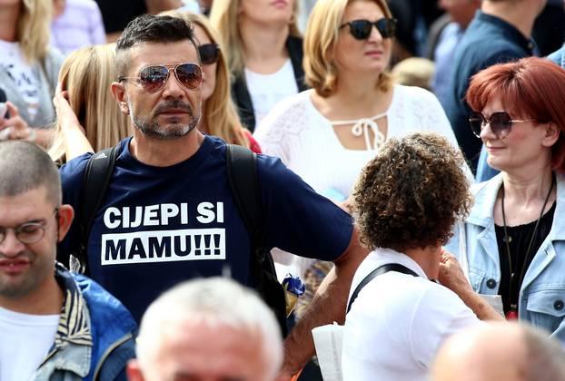 Zagreb: Na glavnom Trgu održava se Festival slobode 2.0