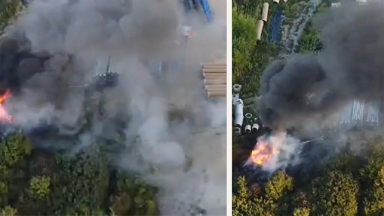Požar na Žitnjaku: 'Jedva se moglo disati od smrada guma'