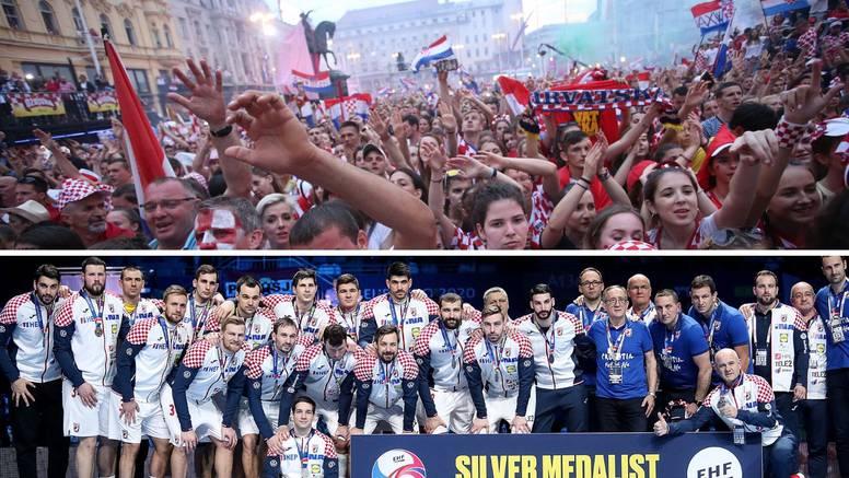 Doček za srebrne 'kauboje' na Trgu bana Jelačića od 12.30...
