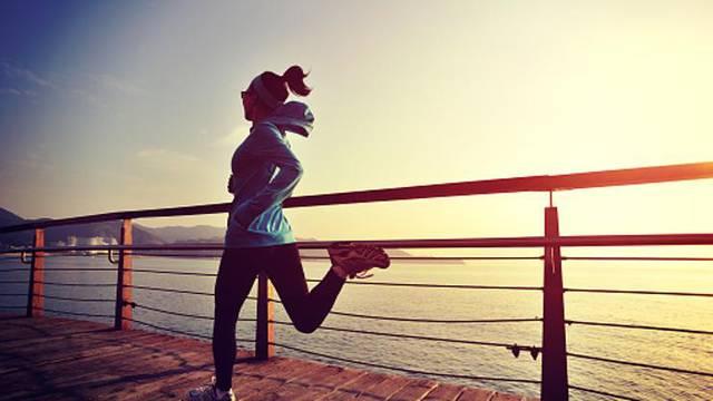 U pluća ulazi više zraka tijekom vježbanja, pa pazite da je čist