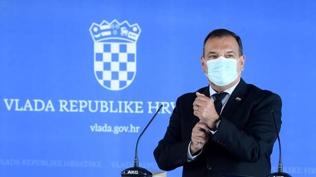 Zagreb: Izjave ministara Beroša i Marića nakon današnje sjednice Vlade