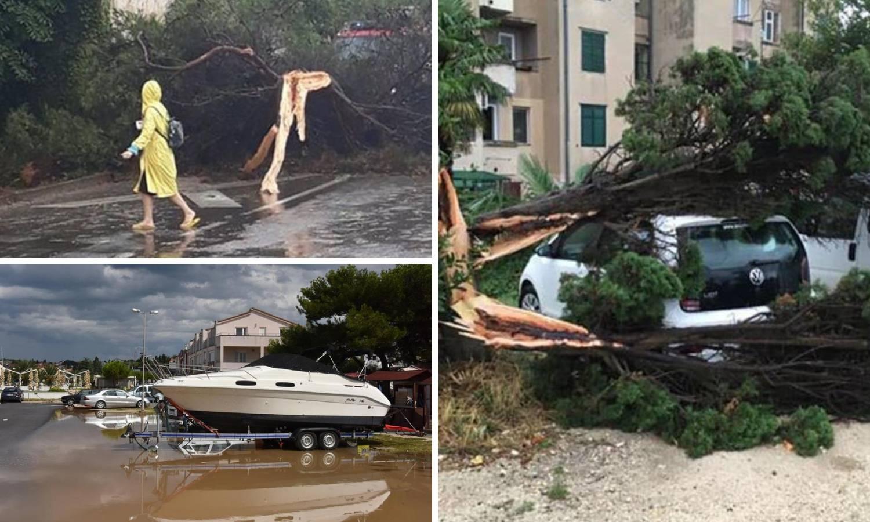 Nevrijeme poharalo Istru: Kiša i jutarnje temperature do 10°C