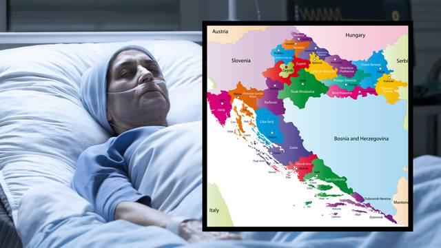 Karta smrti: Hrvate pogađa rak pluća, a Hrvatice rak dojke