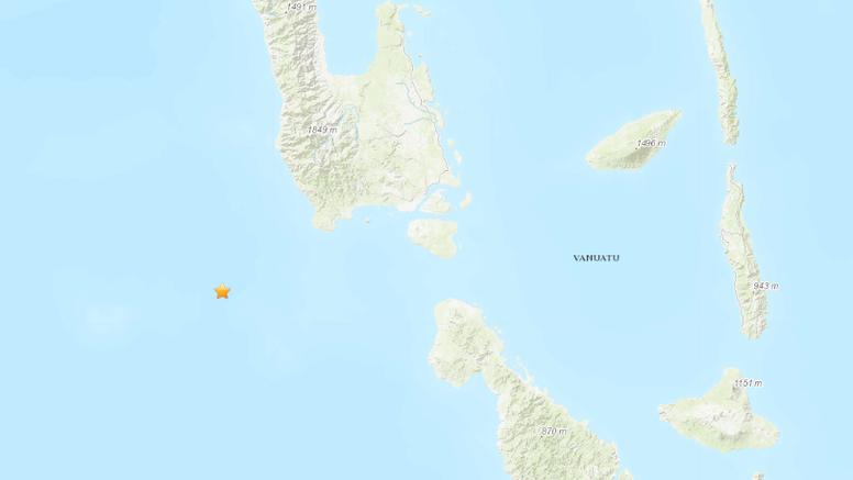 Trese u Pacifiku: Blizu otoka Vanuatu potres magnitude 7,2