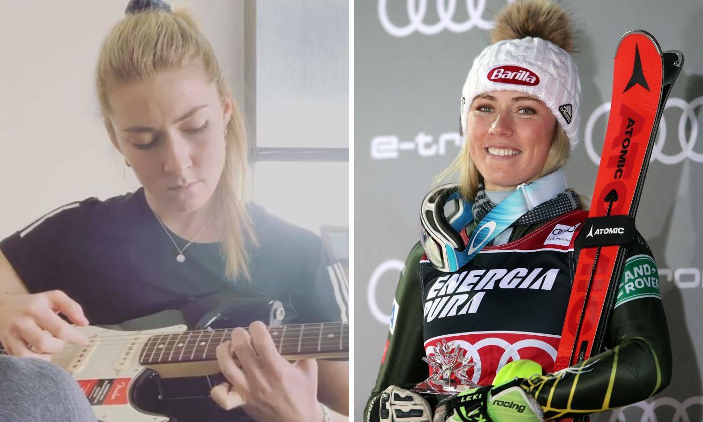 Skijašica Shiffrin zasvirala je gitaru kao podršku liječnicima