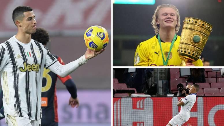 Ronaldo: Zaslužio sam biti dio nogometne  povijesti, a Haaland i Mbappé su stvarno fantastični