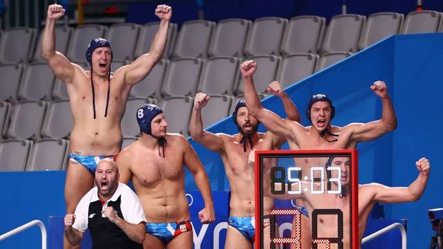 Water Polo - Men - Gold medal match - Greece v Serbia